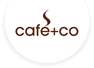 Cafe+Co Slovenia Logo
